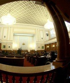 НЛО се загнезди в парламента