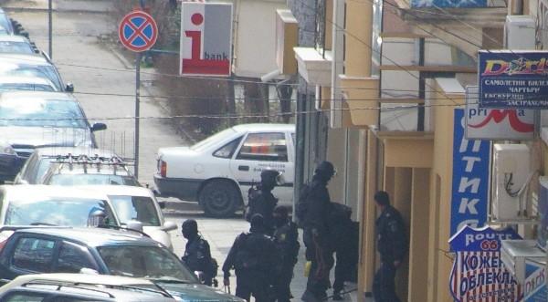 заложники в банке Сливена