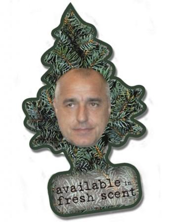 ароматизатор с изображением Бойко Борисова