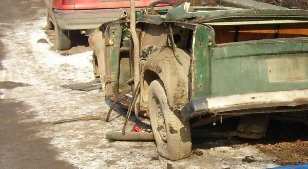 брошенные авто на улицах сливена