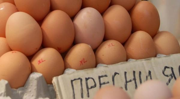 свежие яйца в болгарии