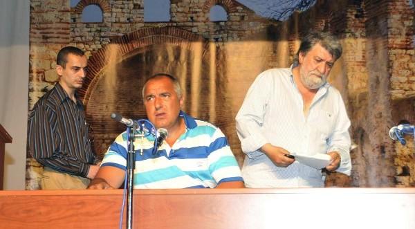 бойко борисов в несебре июль 2011