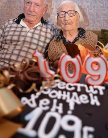 Велика Сыбева 109 лет
