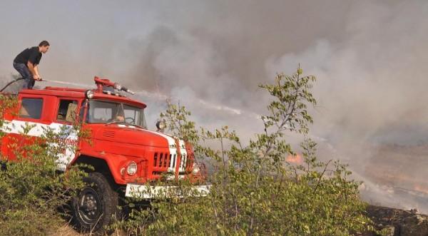 пожар в хасковоской области