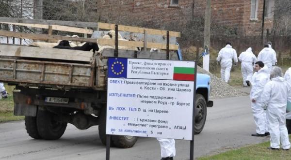 ограждение турецко-болгарской границы