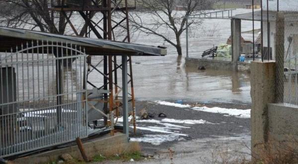 Наводнения и в Сливенско след обилните валежи
