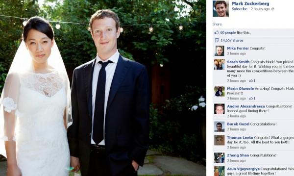 Следборсовата сватба на Зукърбърг – умен юридически ход