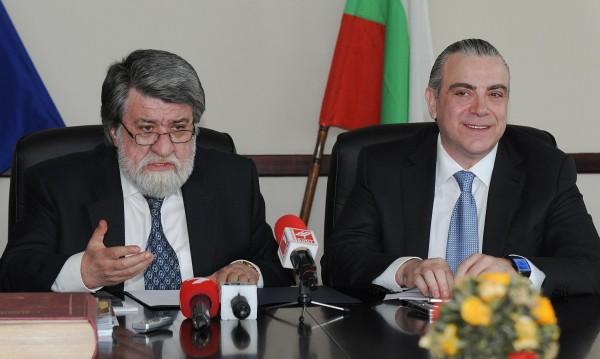 Владо Пенев като министър - стреснат и трогнат