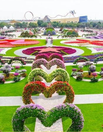 Прекрасните градини на Дубай