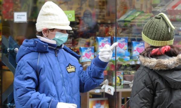 Пет области пред грипна епидемия