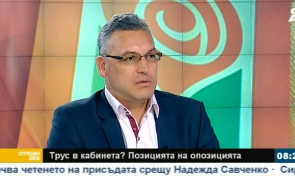 Кадиев и Дончева отдавна не са леви, смята Жаблянов