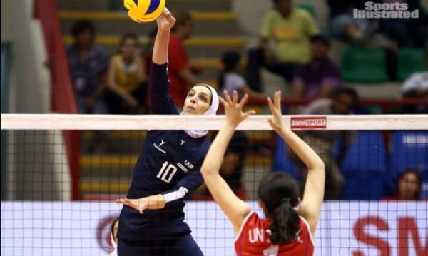 Иранка ще играе волейбол с хиджаб у нас