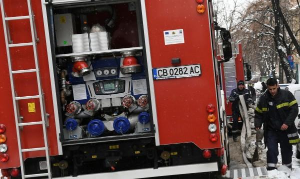 Ромска барака изгоря при пожар в София