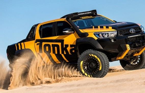 Toyota представи пикап, вдъхновен от детски играчки