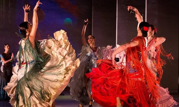 Страстно фламенко с Балета на Испания
