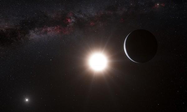 Екзопланета е обградена от примитивна атмосфера