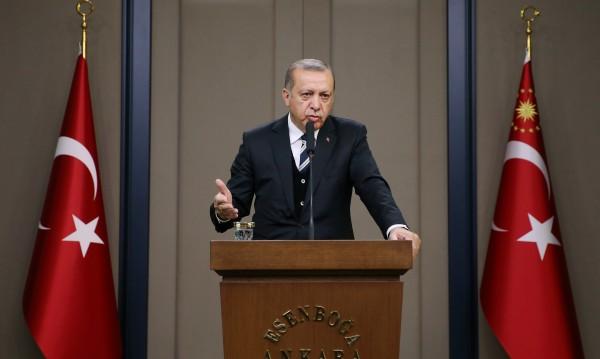 Ердоган: ЕС подпрепя Гърция, а Турция...