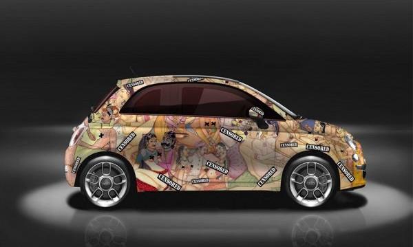 Кама Сутра... цялата. Върху Fiat 500