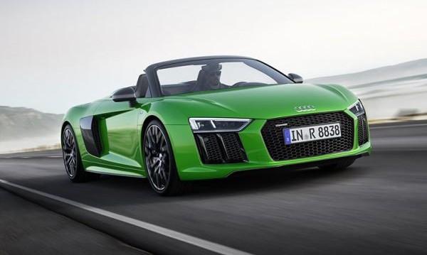 Audi подготви най-бързото кабрио в историята си