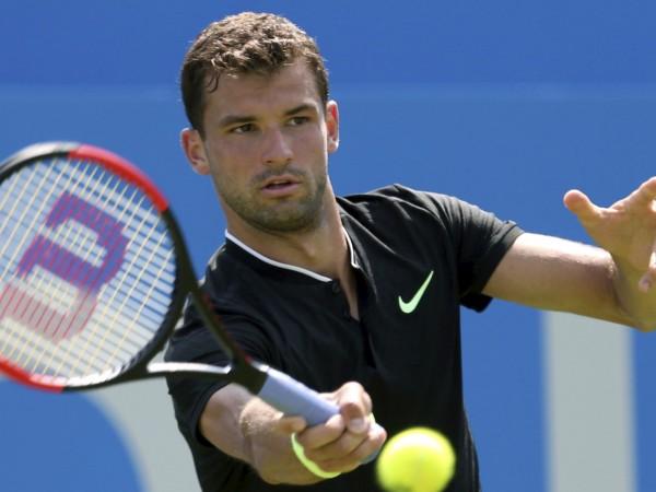 Най-добрият български тенисист Григор Димитров постигна първата си победа на