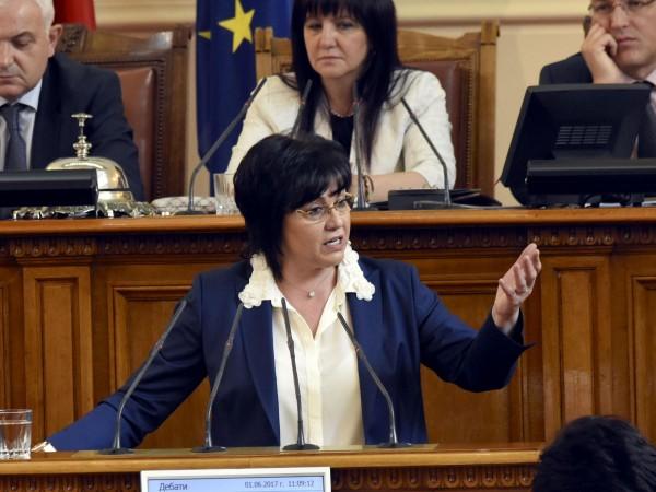 В първия работен ден на депутатите опозицията нападна мнозинството още