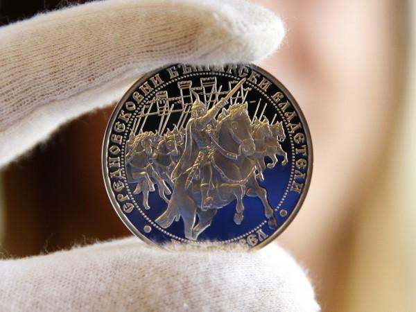 Снимка: Олег Попов/Dnes.bg23Българската народна банка представи нова сребърна възпоменателна монета