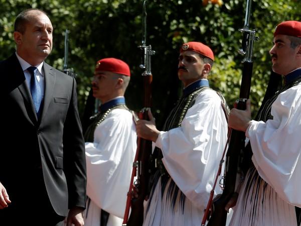 Българският президент Румен Радев изрази подкрепа за присъединяването на страните