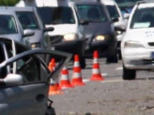 Верижна катастрофа по пътя за Слънчев бряг на кръстовище на