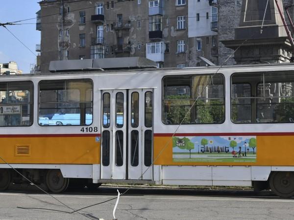 Поради забравен багаж временно е спряно движението на трамвай по