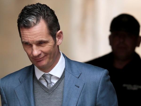 Зет на испанския крал Фелипе Шести, осъден миналата година на