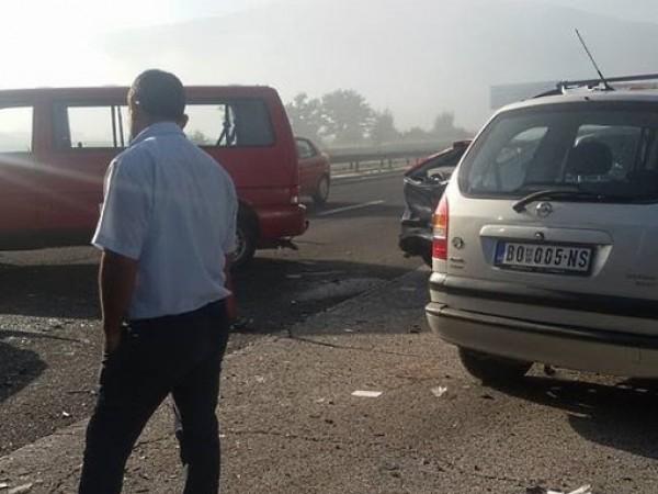 """Общо 14 пострадали при катастрофите на магистрала """"Тракия"""" рано тази"""