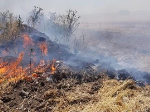 Снимка: Община Бургас12345Пожар е горял в района на бургаския квартал