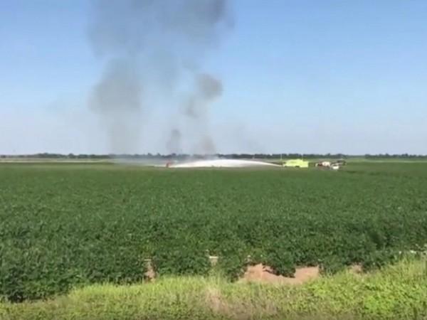 Американски военнотранспортен самолет се разби в южния щат Мисисипи. Всички