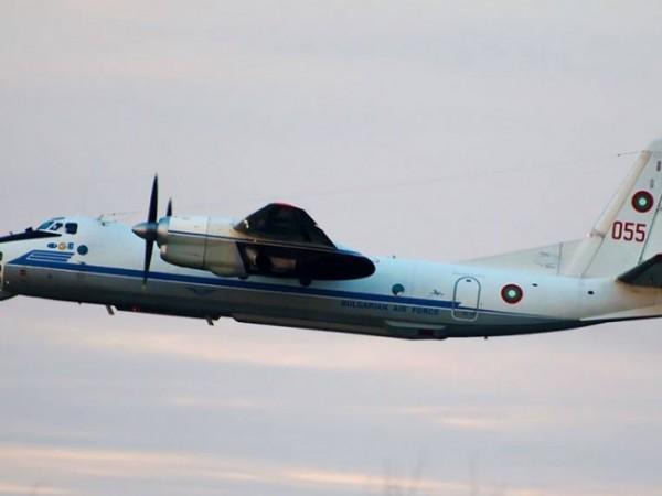 Самолет Ан-30 от състава на българските Военновъздушни сили е изпълнил