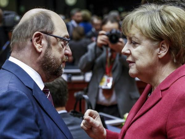 Канцлерът Ангела Меркел има 18% преднина пред кандидата на социалдемократите