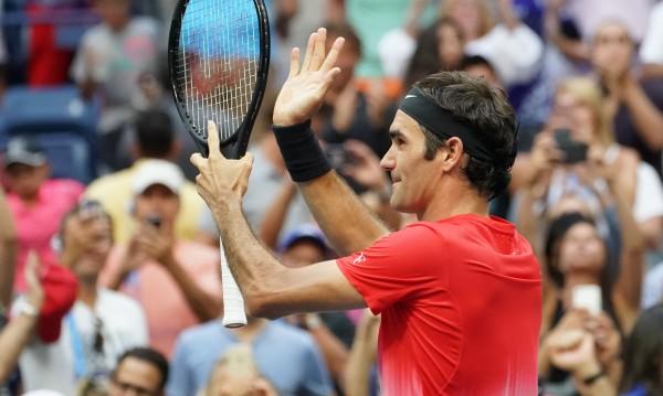 Федерер мина през нова петсетов трилър в Ню Йорк