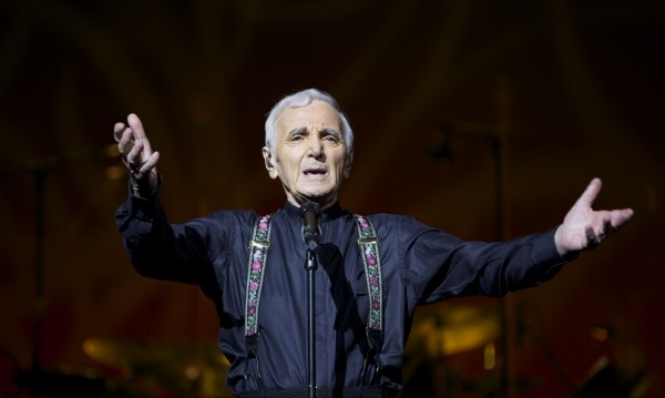 93-годишният Шарл Азнавур с първи голям концерт у нас