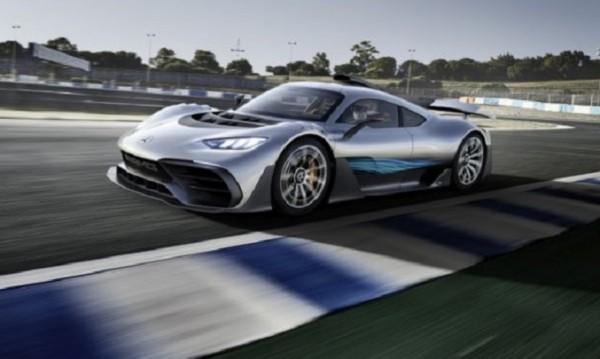 Project ONE е новата хиперкола на Mercedes-AMG