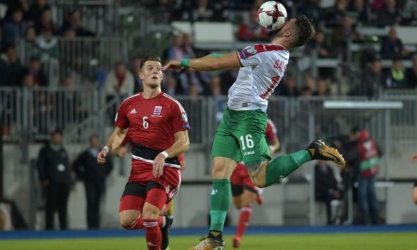 Тъжно: България едвам издрапа до 1:1 с Люксембург