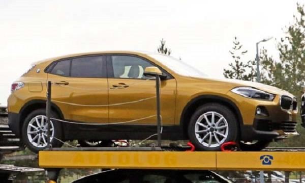 BMW повдигна завесата на кросоувъра X2