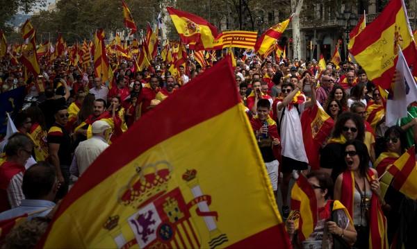Национален празник в Испания на фона на сепаратистката криза