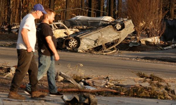 След пожарите в Калифорния: 31 жертви, стотици в неизвестност