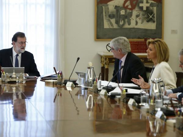 Когато испанският премиер Мариано Рахой обяви планираните мерки срещу сепаратисткото