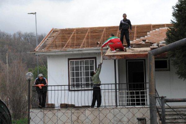 снос таможенного посёлка в болгарии