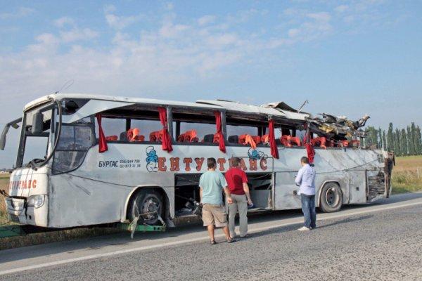 атобус разбился в болгарии