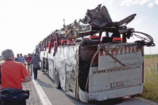 авария на шоссе тракия в болгарии