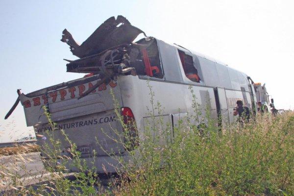 разбился автобус в болгарии