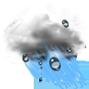 Облачно с леки превалявания от дъжд